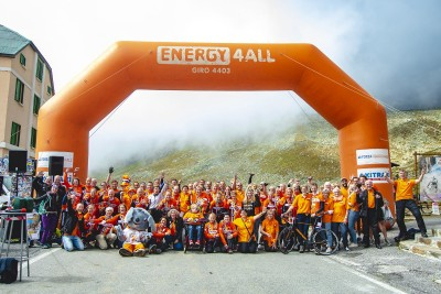 Forza4Energy4All 2018 Gavia groepsfoto